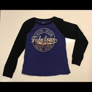 Girls Size 7/8 Long sleeve T-shirt